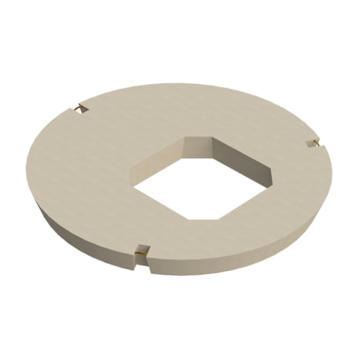 Stanton Bonna Manhole Square Central Opening Cover Slab 1050 x 675mm