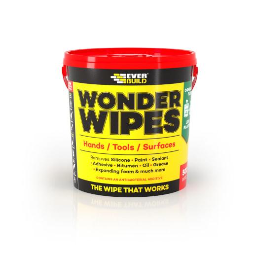 Everbuild Monster Wonder Wipes Tub 500 Wipes