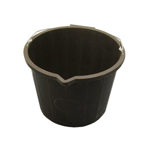 Faithfull Bucket 14L Black