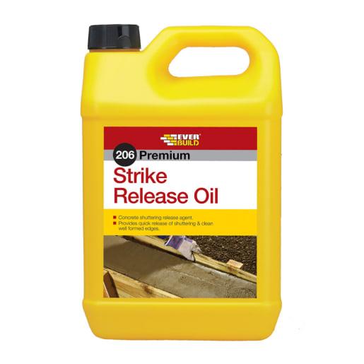 Everbuild 206 Strike Release Mould Oil 5 Litre