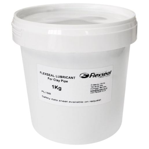 Flexseal Pipe Lubricant for Clay Pipe 1kg