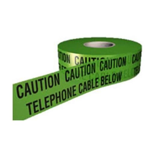 Utilinet Underground Warning Tape 365m x 150mm Telephone Cable