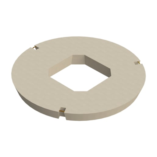 Stanton Bonna Manhole Square Central Opening Cover Slab 900 x 600mm
