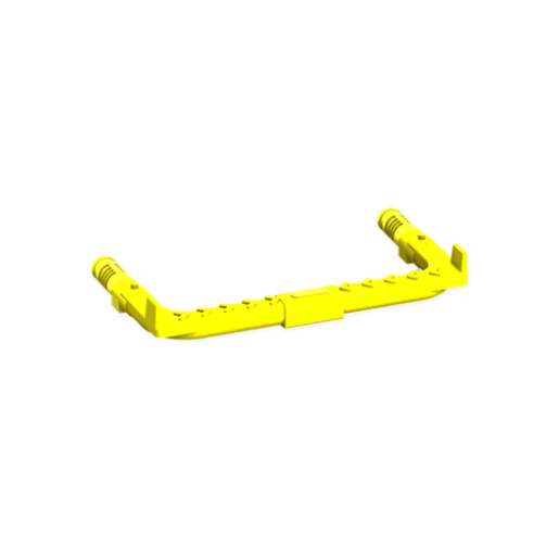 Caswick SS404 Step Irons 320 20 x 70mm Yellow