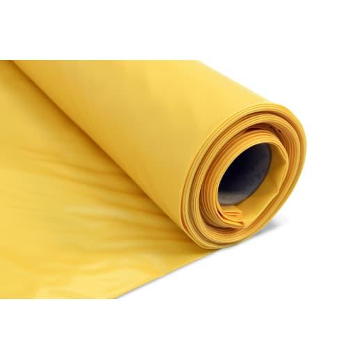 Visqueen Low Permeability Gas Membrane 4 x 2.5m Yellow