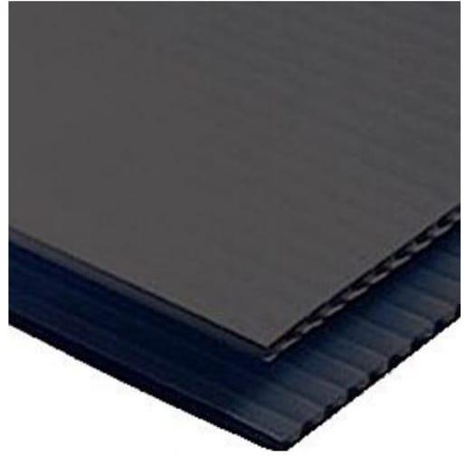 Visqueen Urban Drainage Geomembrane Protection 2.4 x 1.2m x 3mm Black