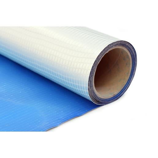Visqueen Gas Barrier Membrane 50 x 2m x 0.52mm Blue