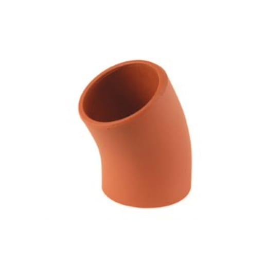 Hepworth SuperSleve 30° Plain Clay Bend 150mm Brown