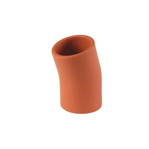 Hepworth SuperSleve 15° Single Socket Bend 225mm