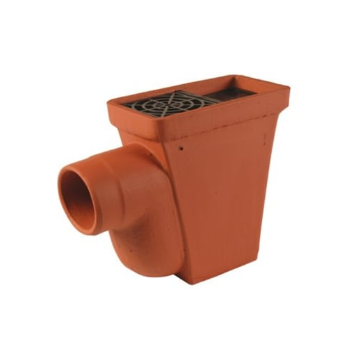 Hepworth SuperSleve HouseDrain Access Gully 420 x 100mm Brown