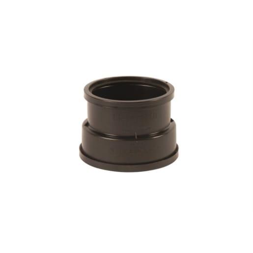 Hepworth SuperSleve Soil Pipe Adaptor 150mm Black