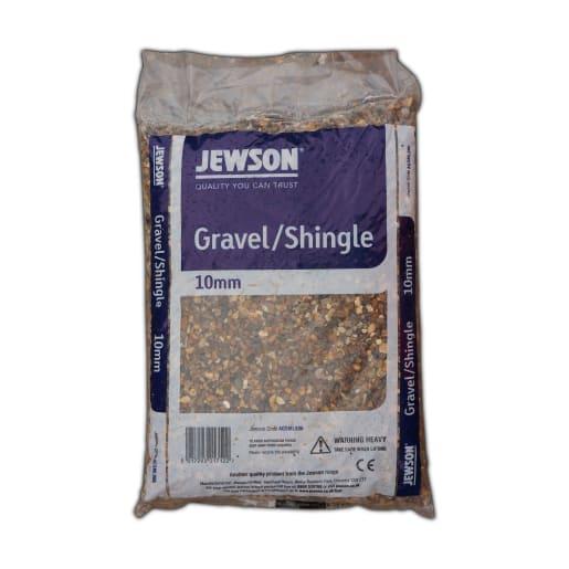 Jewson Gravel/Shingle 10mm Handy Bag 25kg