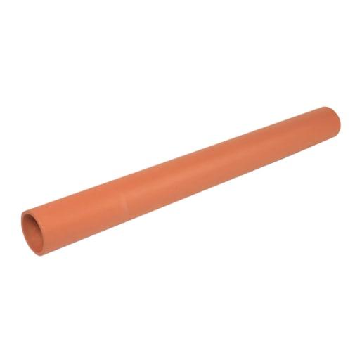 Hepworth SuperSleve HouseDrain Pipe 1.75m x 150mm Brown