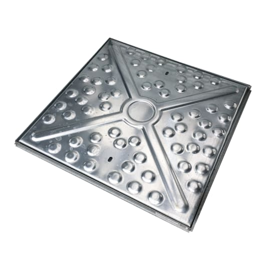 EJ GPW Single Seal Manhole Cover and Frame 10T 600 x 600mm Galvanised