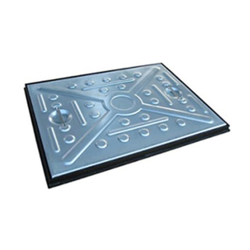 EJ GPW Single Seal Manhole Cover and Frame 2.5T 600 x 450mm Galvanised