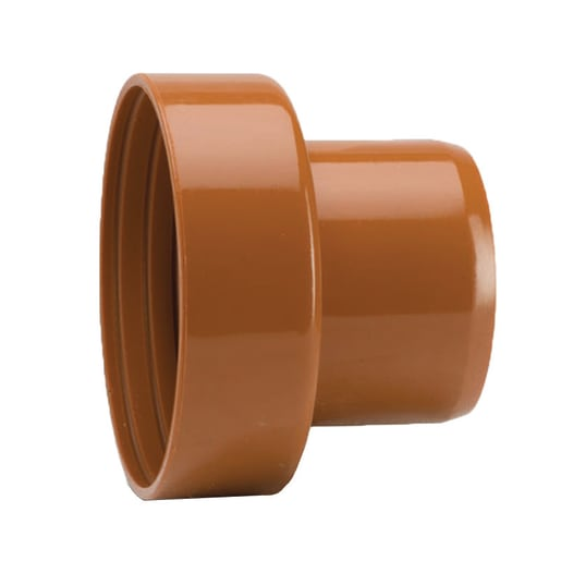 Polypipe Drain Spigot to Clay and Cast Iron Adaptor 110mm