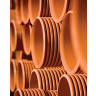 Polypipe Polysewer 90° Triple Socket Equal Junction 150mm Terracotta