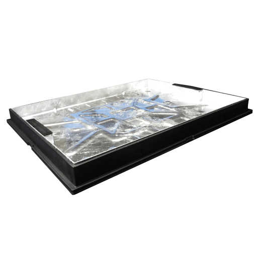 EJ Manhole Cover and Frame 10T 600 x 450mm Galvanised