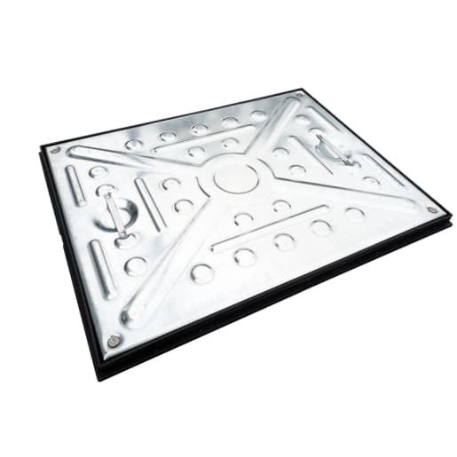 EJ GPW Single Seal Manhole Cover and Frame 5T 600 x 450mm Galvanised