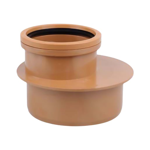 OsmaDrain Level Invert Reducer 160mm Brown