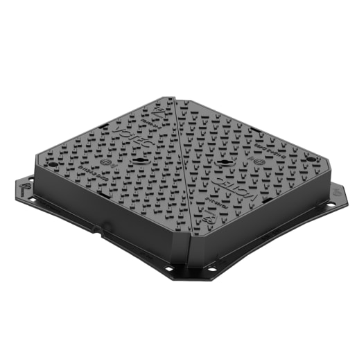 Votec D400 Access Cover and Frame 600 x 600 x 100mm Ductile Iron