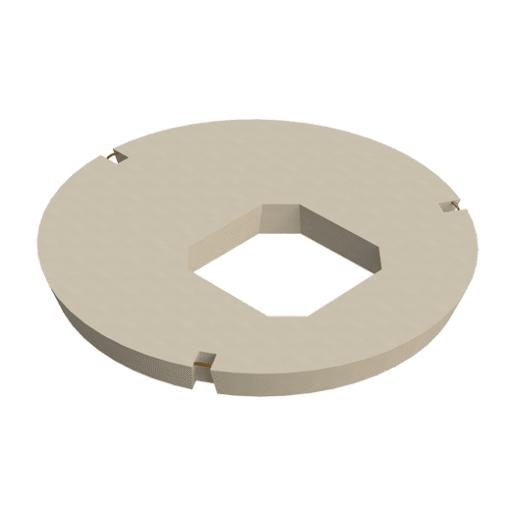 Stanton Bonna Manhole Square Eccentric Opening Cover Slab 1200 x 600mm