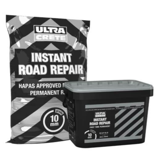 UltraCrete Instant Road Repair 10mm 25kg Black