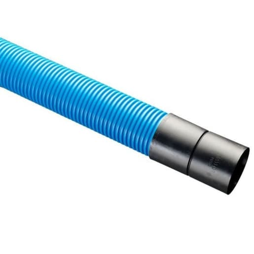 Naylor Metro Twinwall Utility Ducting 6m x 110mm Blue
