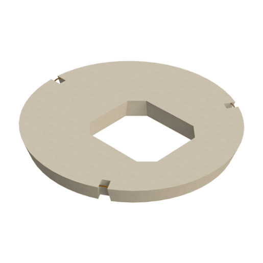 Stanton Bonna Manhole Eccentric Opening Cover Slab 1200 x 600 x 750mm