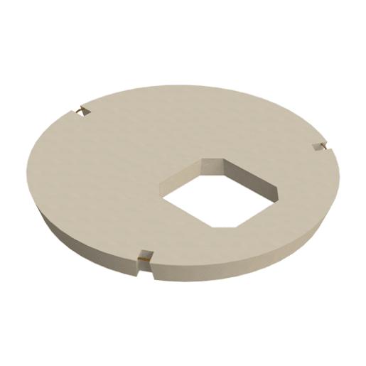 Stanton Bonna Manhole Eccentric Opening Cover Slab 1800 x 600 x 600mm