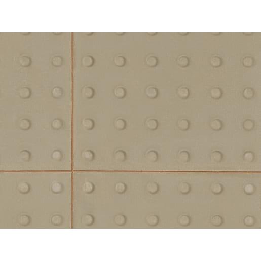 Marshalls Tactile Warning Slab 400 x 400 x 50mm Natural