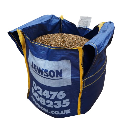 Jewson Gravel/Shingle 10mm Bulk Bag 800kg