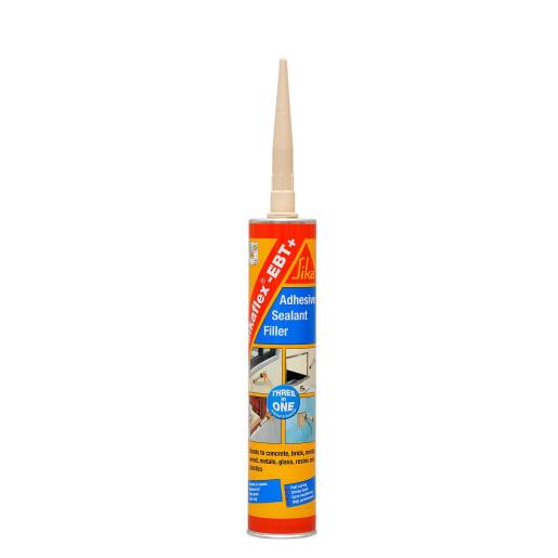 Sikaflex EBT Plus Adhesive Sealant Filler 300ml Grey